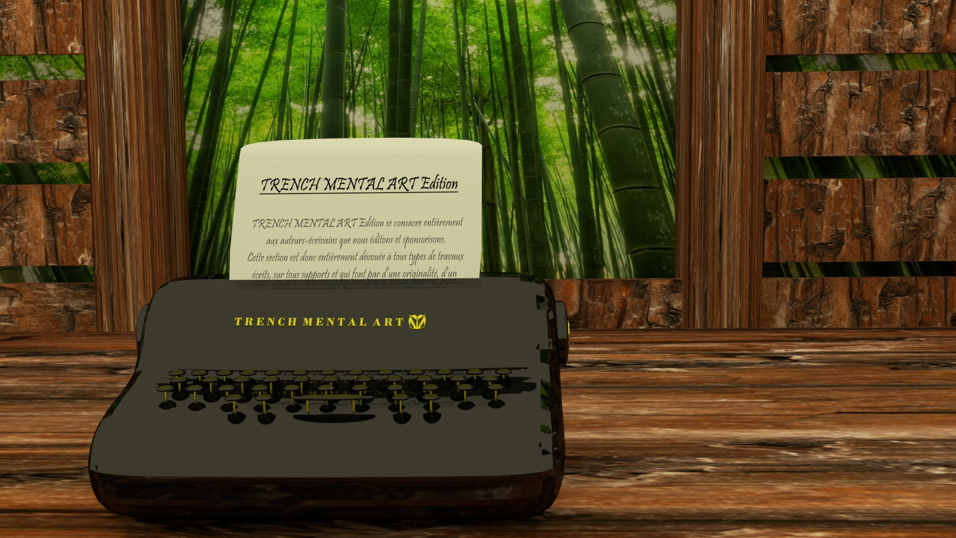 Site Edition pic writing machine paper 001
