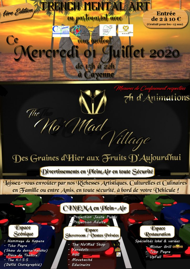 2k20 - No'Mad Village Flyer V3 - V20200615